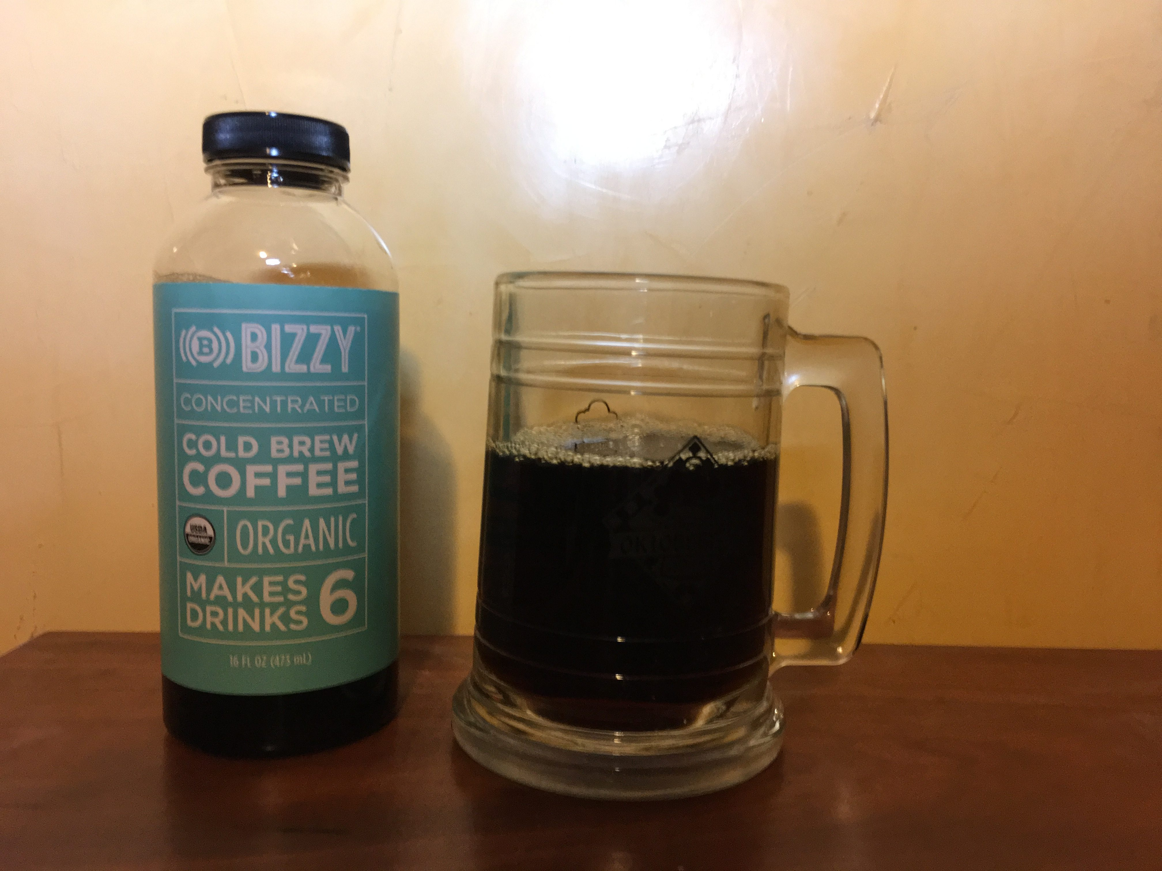 Old Resolutions: Bizzy Cold Brew Coffee