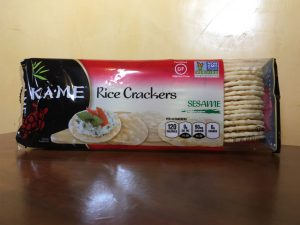 New Resolutions: Kame Rice Crackers