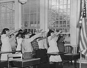 The Bellamy Salute